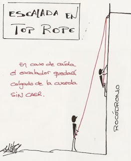 Escalada_Top_Rope-dibujo