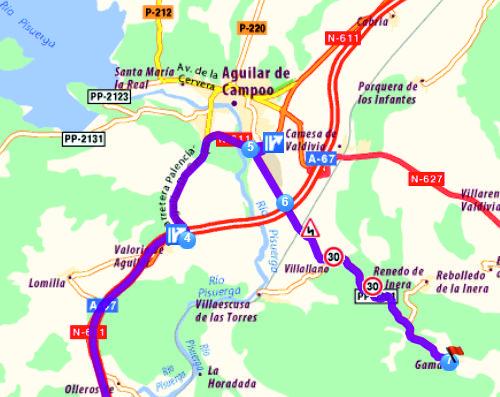 Mapa Gama